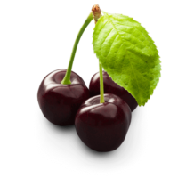 Dark-sweet cherries